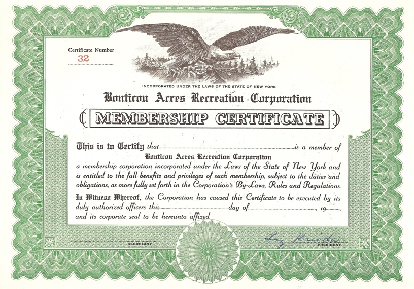 llc certificate of ownership template
